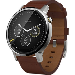 Motorola Moto360 Leather - Gen2