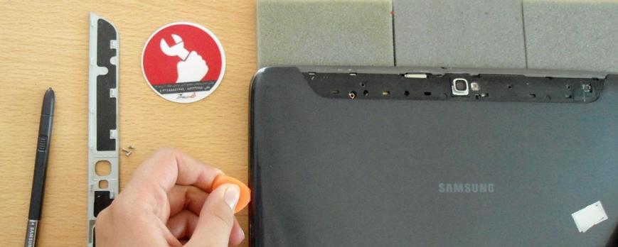باز کردن تبلت Samsung N8000